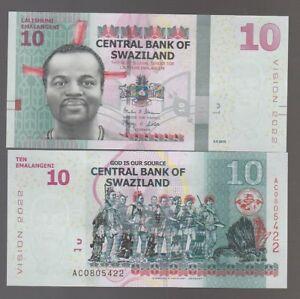 Swaziland-10-emalangeni-2015-2017-pick-nuovo-lotto-4268