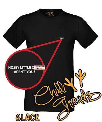 Nosey Little C*** Aren't You? Adult Humour, Funny,rude,joke T-shirt Vest Tshirt Perfekte Verarbeitung