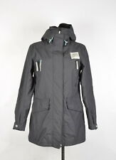 Didriksons Hooded Women Jacket Coat In Size 38, Genuine