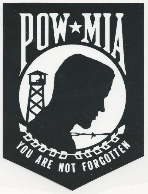 POW/MIA - YOU ARE NOT FORGOTTEN - STICKER