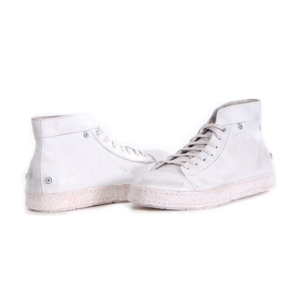 Men Diesel shoes D-Asmik Mid Fashion White Size 9