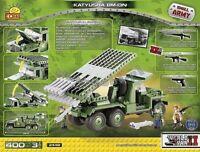 Cobi Ww2 Series Katyusha Rocket 400 Pieces Construction Building Blocks 2448