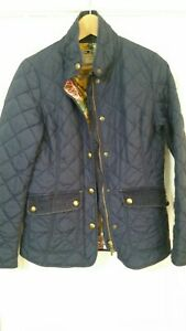 Joules-Blue-Quilted-Outdoor-Country-Jacket-UK-10-Excellent
