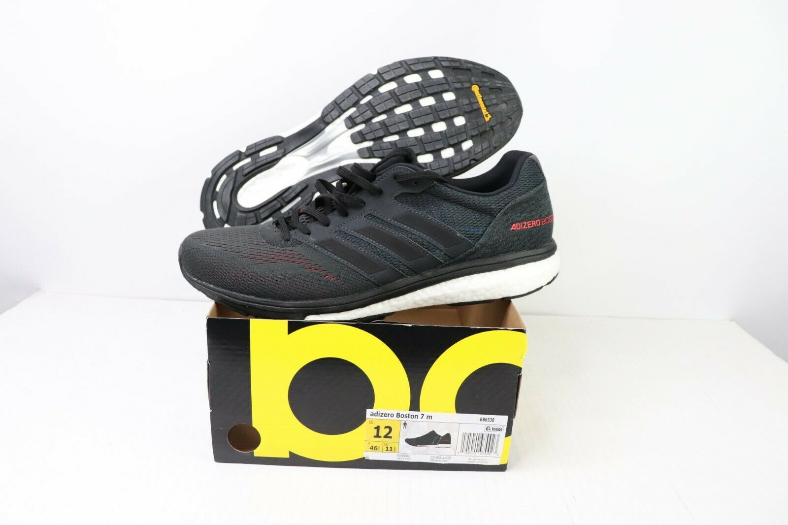 ac9549ff4e33f New Adidas Boost Mens Size 12 Boston 7 Lightweight Running Racing Flats  shoes