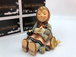 Hummel-Figurine-69-Strickliesl-3-1-2in-1-Choice-Top-Condition