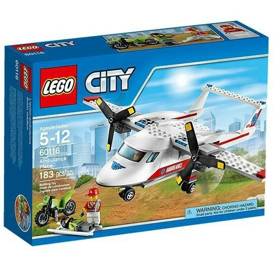 LEGO City Ambulance Plane Set