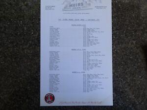 1972 Holden Hq Monaro Price List And Colour Range Rare border=