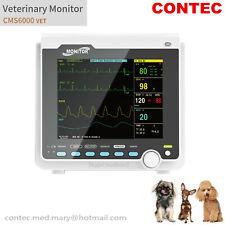Veterinary Patient Monitor Vital Signs Multiparameter Icu Vet Ecg Machine 8
