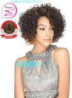 Sensual Collection Synthetic Short Side Part Curly Ella Lace Front Wig