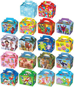 10-Themed-Party-Boxes-Choose-From-19-Designs-Lunch-Meal-Gift-Bag-Childrens