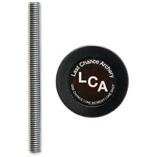 """Last Chance Archery Wcp1001 Stud & Weight Cap for Bow Stabilizer 3"""" Threadless"""