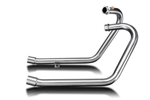 Delkevic 2-2 Header Triumph Bonneville Bobber Stainless Steel Exhaust 17-19