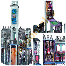 Monster High School Playset House Lot Doll Deadluxe Creepy Furniture Party Rooms
