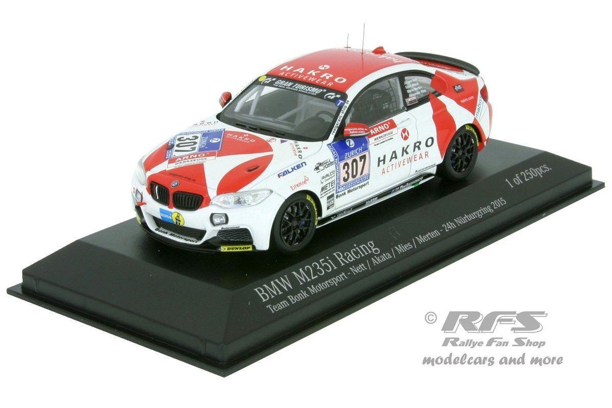 BMW m235i Racing 24 H Nürburgring 2015 Technologies Motorsport 1 43 Minichamps