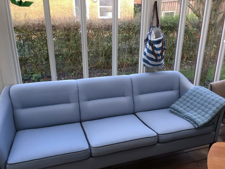 Sofa, uld, 3 pers.