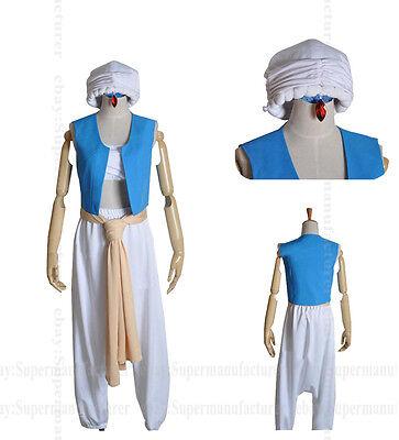 Magi: The Labyrinth of Magic Aladdin Uniform Cosplay Clothing Costume