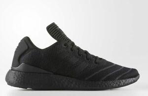 23813356cbd046 Adidas Men s Busenitz PureBoost Primeknit Shoes NEW AUTHENTIC Black ...