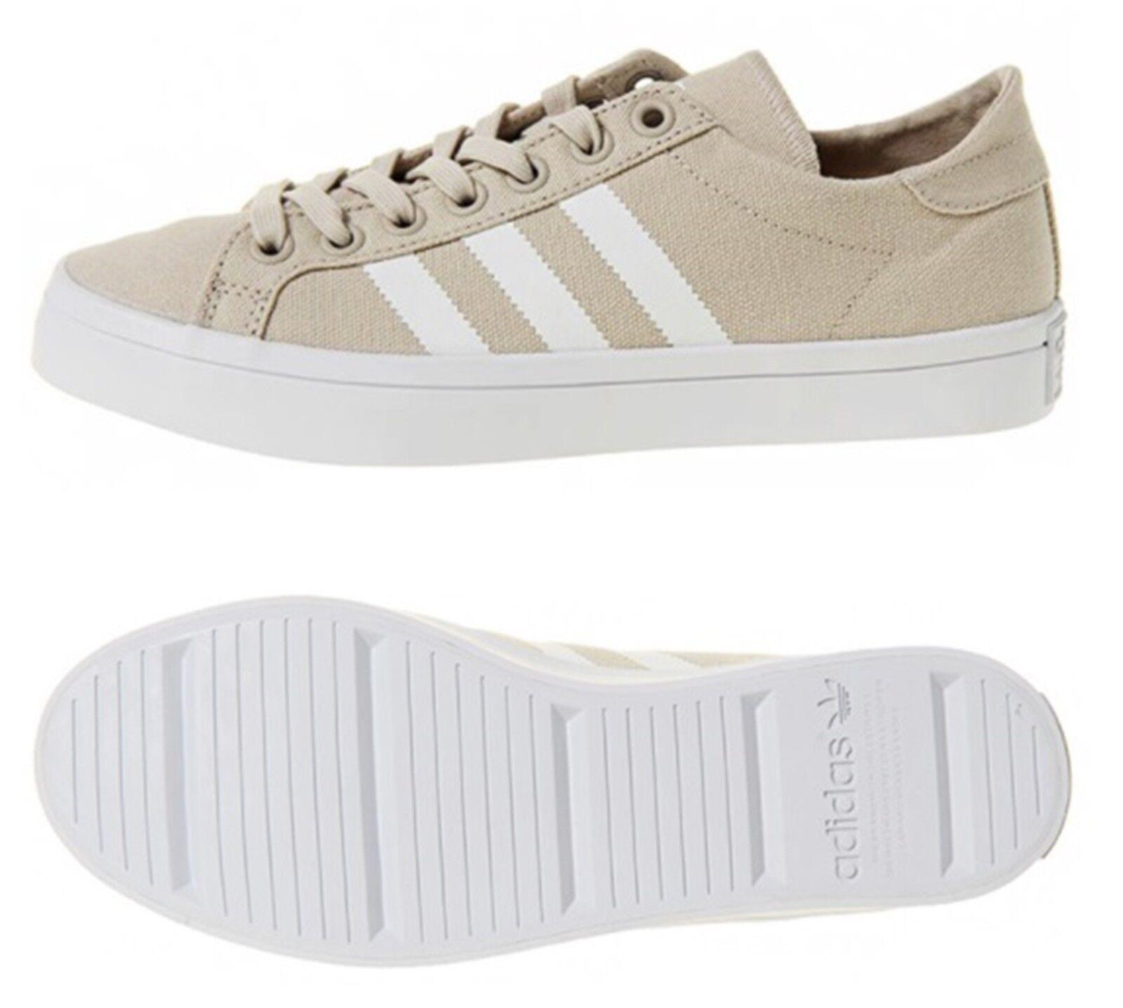 249782fe9677a Adidas Men Originals Court Vantage shoes Beige Sneakers BB5207 Training  Running nzdxkj8872-Men