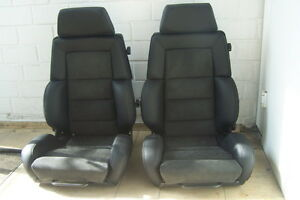 2 recaro idealsitz c classic sitze audi 80 90 quattro. Black Bedroom Furniture Sets. Home Design Ideas