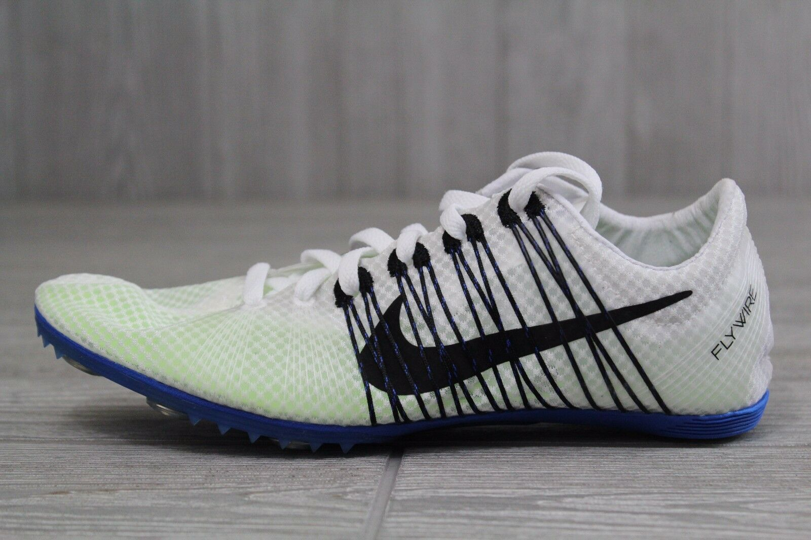 19 New Nike Zoom Victory 2 Track Spikes White/Blue Comfortable Cheap women's shoes women's shoes