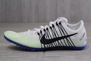19 Nike Zoom Victory 2 Piste Pointes Blanc/Bleu Tailles 4.5-12.5 555365 100