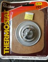 Robertshaw Interstate Thermostat 800-195 Made In Usa