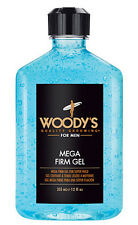 Woody's Quality Grooming for Men Mega Firm Gel for Super Hold 12oz.