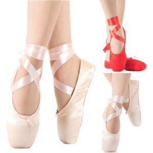 "Wide 2.5M Lengths UK Supplier Pink Satin Ballet Pointe Shoe Ribbon 25mm 1/"""