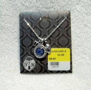University-of-Memphis-Charm-Necklace-Football