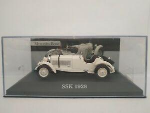 1-43-MERCEDES-BENZ-SSK-1928-COCHE-DE-METAL-A-ESCALA-SCALE-DIECAST