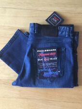 NEW Paul Shark Jeans Blue Pants KIPAWA  Pantaloni Size Eu 50 Usa 34