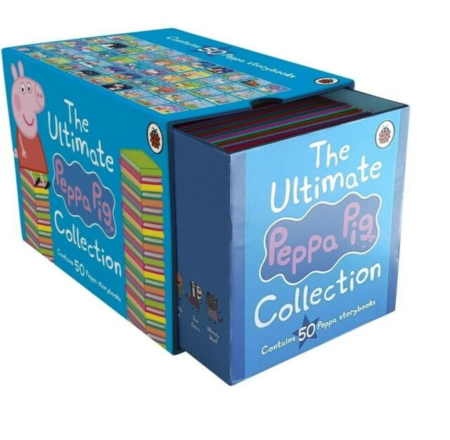 Brand New The Ultimate Peppa Pig Collection Box Set - 50 books boxset 2019