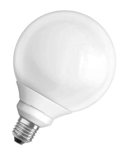 Osram Duluxstar Kugel Bulb Globe 20W=84W E27 2700 K Warm Energiesparlampe