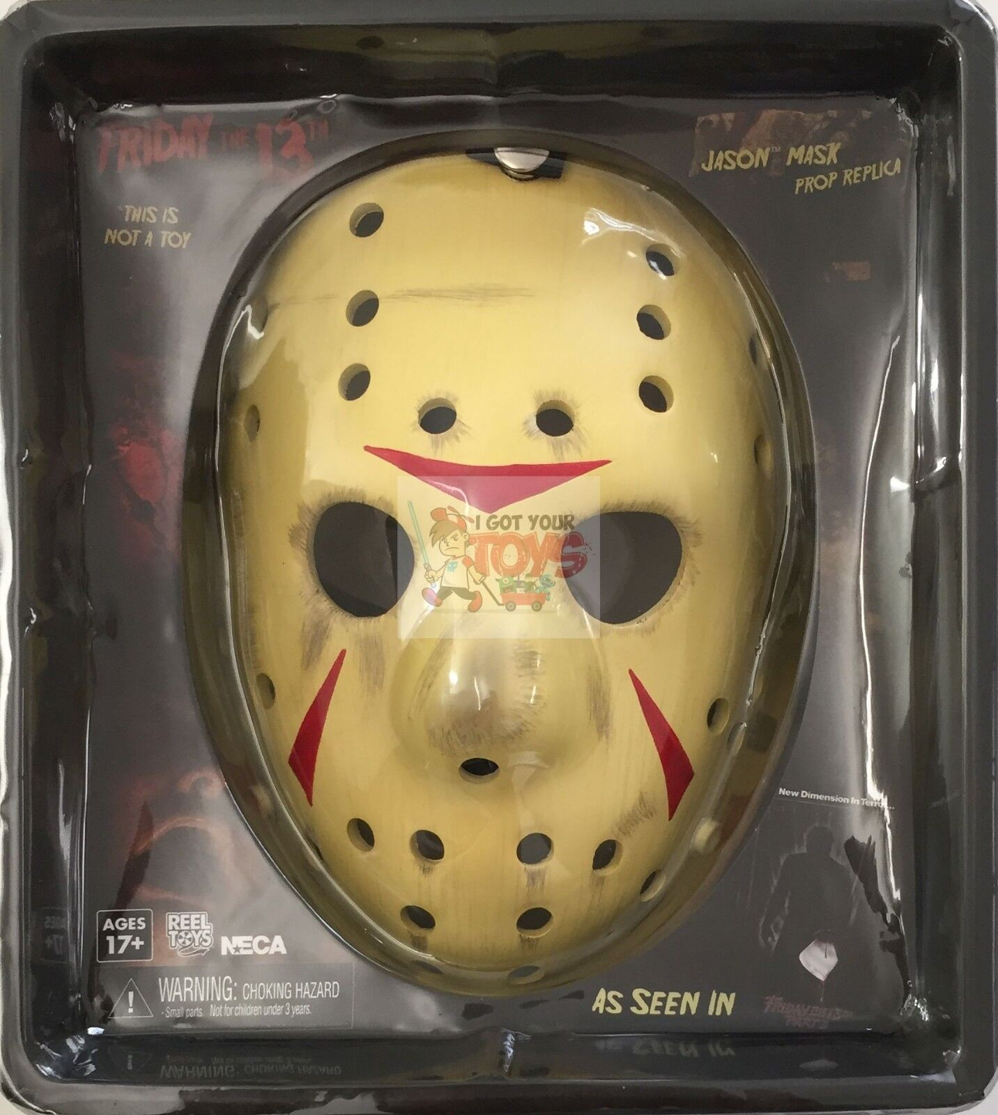 JASON VOORHEES Mask Mask Mask PROP REPLICA NECA Friday The 13th Part 3 Replica 84eac9