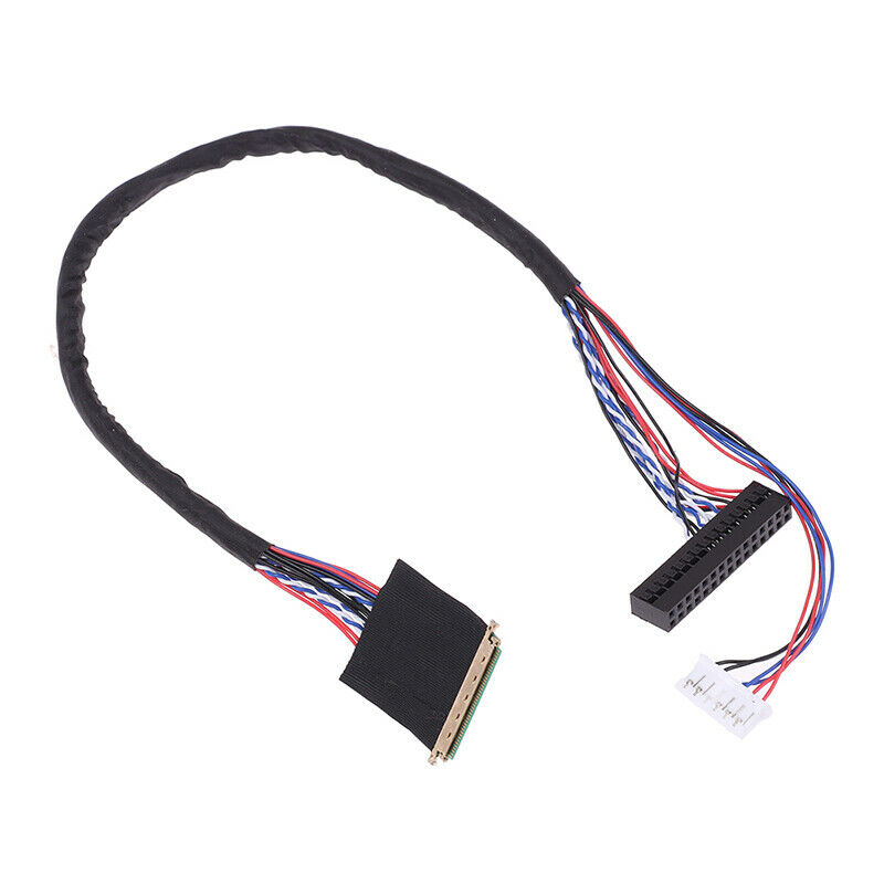 1PC New Arrival 40 Pin 1 Channel 6 Bit LED LCD LVDS Screen Cable For Display HG