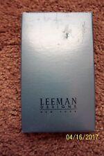 Leeman Designs Leather Business Card Holder Nib