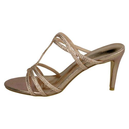 Hauts on On Talons Spot Slip Chaussures À Soirée Femme Sandale De F1r0848 Open waFUvFqpI