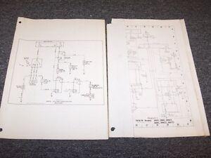 1978 1979 Mercedes Benz 240d 280e 280ce Sedan Electrical Wiring Diagram Manual Ebay