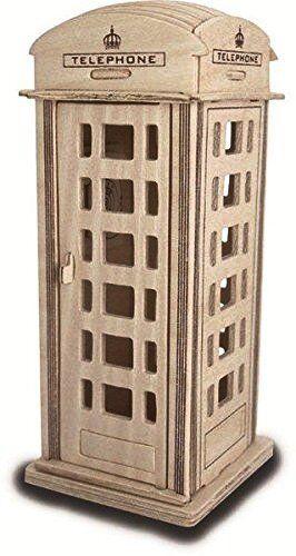 Woodcraft Quay Konstruktion Holz 3D Modell Bausatz P313 Alter 7 Plus Handy Box