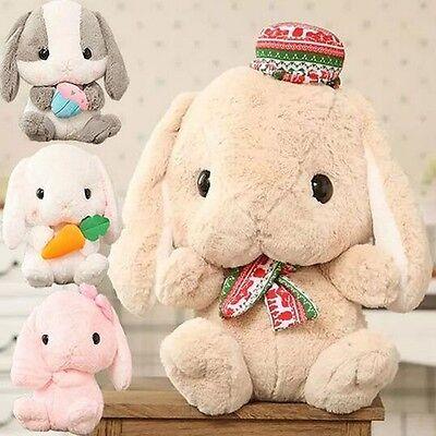Japan AMUSE Pote Usa Loppy Cuddly Bunny Ear Rabbit Soft Plush Toy Doll Gift