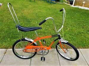 Rare Orange 1970s SWINGER 1 Banana Seat Muscle Bike