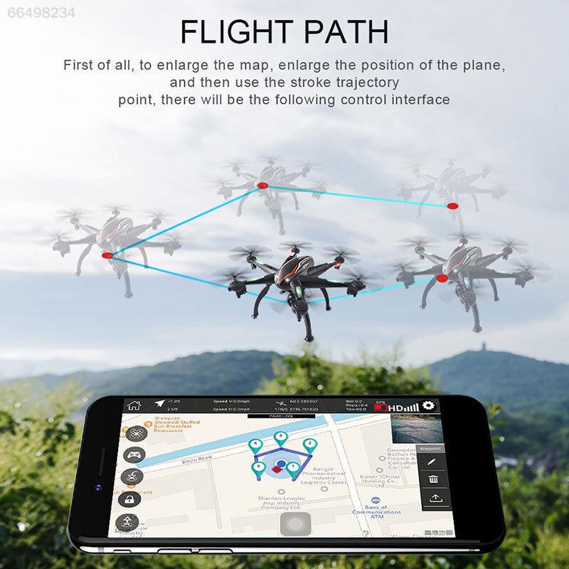 WIFI FPV 2.4g 4ch 6 Axis con 1080p HD Fotocamera Quadcopter Drone Quadcopter 5g GPS