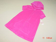 f63e86e5d87f6 item 8 NWT Girls Terry Cloth Beach Cover Up Swim Pink Summer Zippered  Hooded Sporty -NWT Girls Terry Cloth Beach Cover Up Swim Pink Summer  Zippered Hooded ...