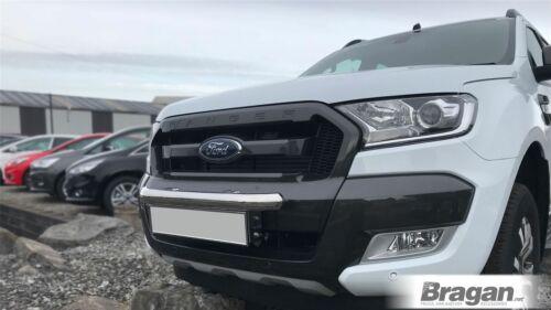To Fit 2016 Spot Light Brackets Ford Ranger Stainless Steel Front Bumper Bars