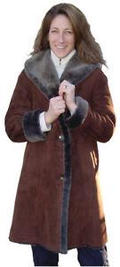 Shearling Size Merino 3 Spanish Coat 4 small X tOwvfq