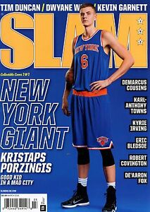 Slam Magazine #195 3/2016 basketball NBA New York Knicks KRISTAPS ...