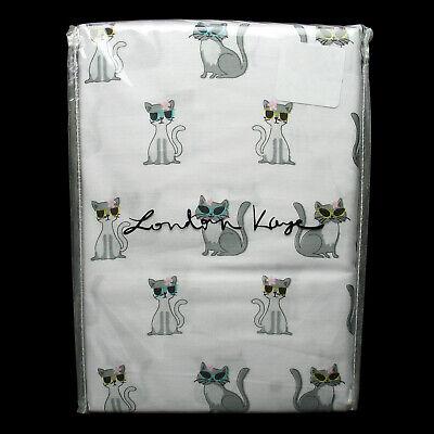 London Kaye 2 Piece 100 Cotton Pillowcase Set White