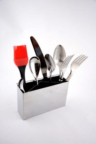 NEW Stainless Steel Kitchen Cutlery Utensil Holder Drainer Basket RRP $17.50