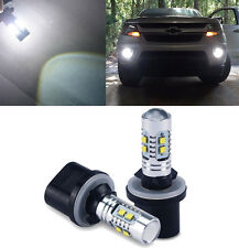2x 880 899 6000K White High Power LED Fog Light 50W Cree Bulbs 2400LM for Ford