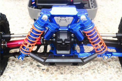 Metal L type Front Rear Shock Absorbers for TRAXXAS RUSTLER 4X4 VXL 67076-4